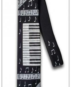 muzička oslikana kravata